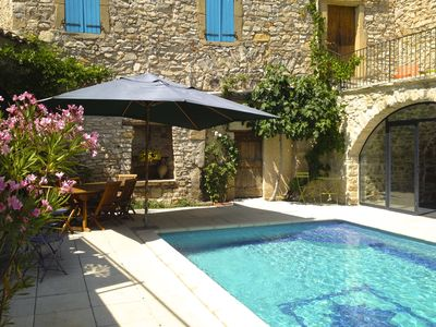 Close to Uzès, House with character beautifully restored