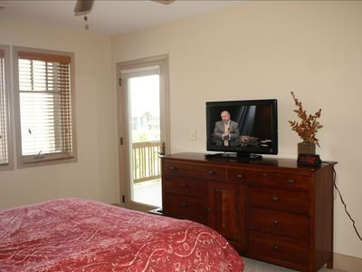 Master Bedroom-Flat Screen Television