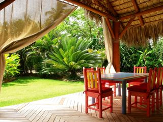 Las Terrenas villa photo - Outdoor dining room