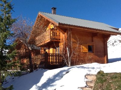 9 people chalet south slopes