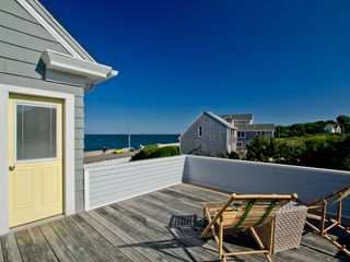 Narragansett Pier house photo - Deck off bathroom