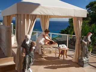 Cruz Bay villa photo - Massage with a view
