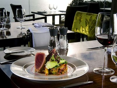 Enjoy fine dining at the on site Edge Restaurant