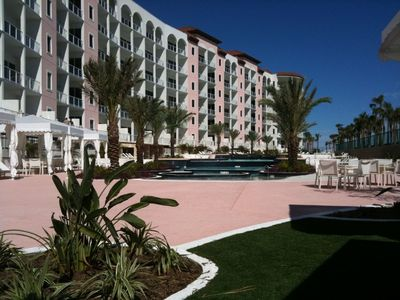 Galveston condo rental - Diamond Beach Pool
