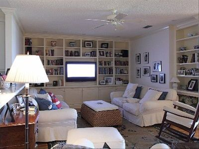 "Cocoa Beach condo rental - Living Area with 46"" TV"