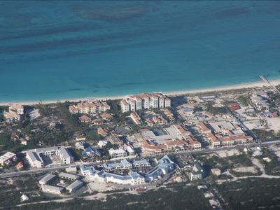 The Regent Grand from the air....also Regent Village and Salt Mills Plaza