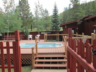 Copper Mountain condo photo - Oversided share hot tub with sauna