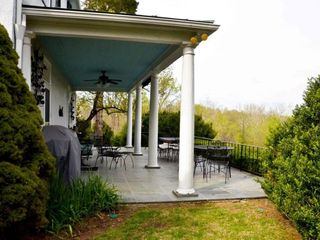 Middleburg house photo - Porch overlooking river