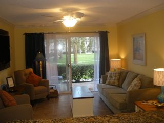 St. Simons Island condo photo - The den is a nice place to socialize or just relax.
