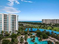 GULF & POOL VIEWS FROM THIS 9TH FLOOR UNIT AT THE BEAUTIFUL PALMS OF DESTIN