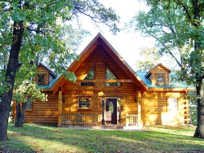 Springtime at Branson Bear Log Cabin