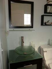 Harvey Cedars house photo - .Powder room into laundry
