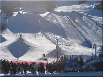 Terrain park and super pipe!