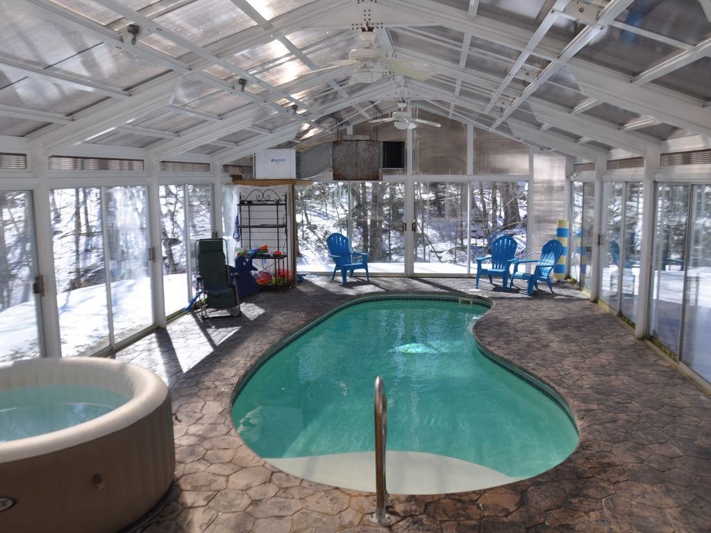 Private Indoor Pool With A Beautiful House Vrbo