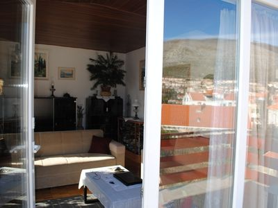 Dubrovnik apartment rental - Main terrace entrance from livingroom