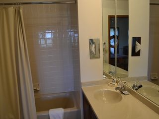 Silvercreek house photo - Master bathroom with shower and tub and plenty of counter space