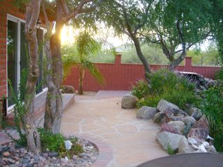 Tucson studio photo - Waterfall and Patios