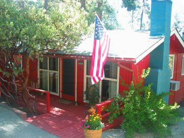 Idyllwild cabin rental - Welcome to the Little Red Cabin!