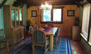 Lake Placid house photo - Dining Room