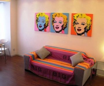 1 Bedroom LUX Apartment Marilyn Monroe Style Kreshchatik 54