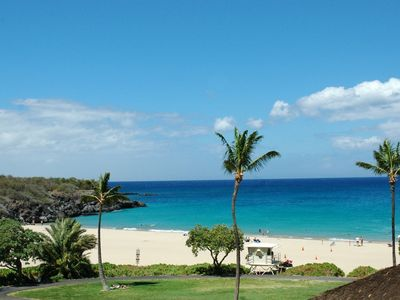 Kailua Kona condo rental - Nearby Hapuna Beach consistently rated 1 of top 3 beaches