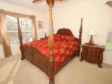 The Majestic Red Master Suite
