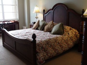 Master Suite with King Size Bed