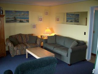 Folly Field condo photo - Ocean One oceanfront den with sleeper sofa