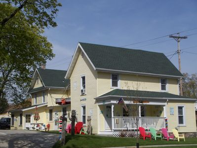 Lake Geneva house rental - The Nautical Inn - 5 Bedroom Home - Sleeps 15