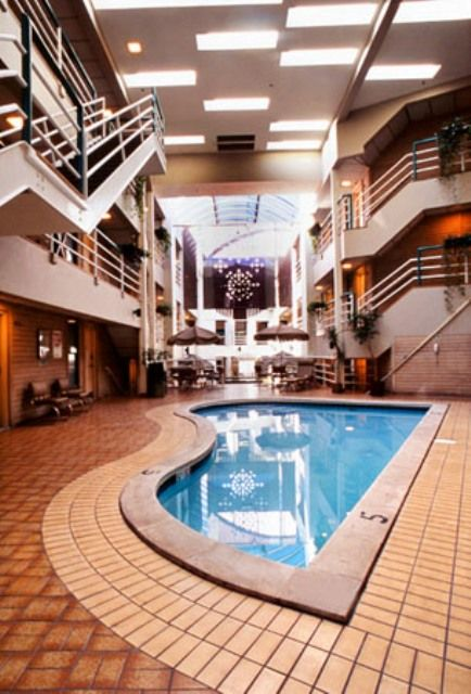 Indoor Pool at the Christie Lodge Resort