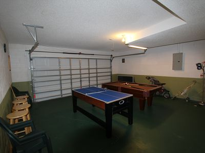 Hampton Lakes villa rental - Play Room (Full-size Pool Table and Kids Multi-game Table)