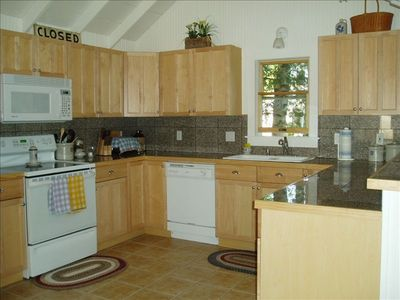 Alpena cottage rental - Modern Fully-Equipped Kitchen
