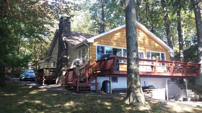 Winter Discounts at AuBern House, a Lake Wallenpaupack Lakefront Cabin