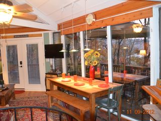 Big Canoe chalet photo - Great Room Dining Area