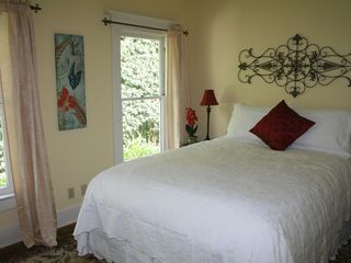 Santa Barbara house photo - Second and third bedrooms have queen beds, own bath and tv and desk