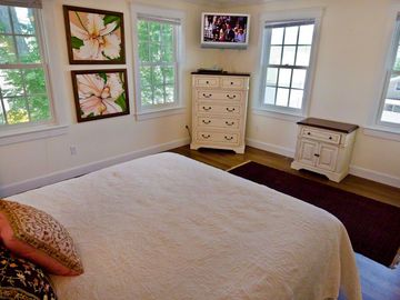 Bedroom #1 - Master King Suite, Water Views, Full Bath. Second Floor