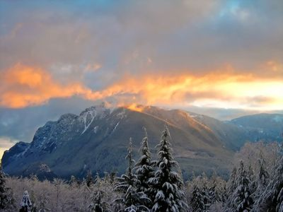 Beautiful Mt Si is Enjoyed from  Everywhere in the Snoqualmie Valley!