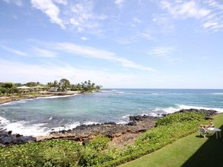Poipu condo photo - The ocean is so close you can almost touch it !