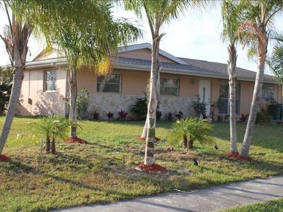 Two Bedroom Port Charlotte waterfront pool home, close to everything!