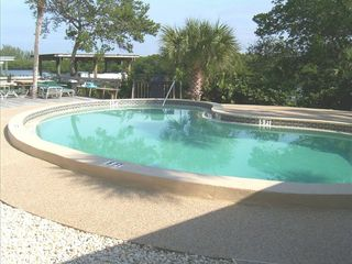 Manasota Key condo photo - Pool Overlooking Lemon Bay
