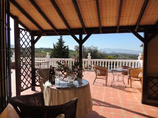 Alhaurin de la Torre villa photo - Relax outdoor or inside 300m2 terrace