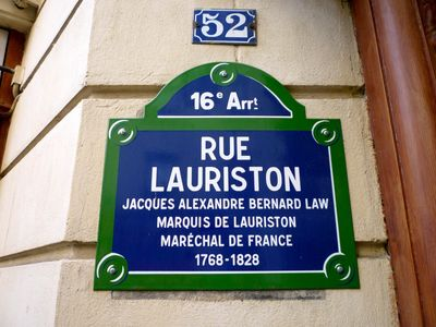 8th Arrondissement Champs Elysees apartment rental - Name of street