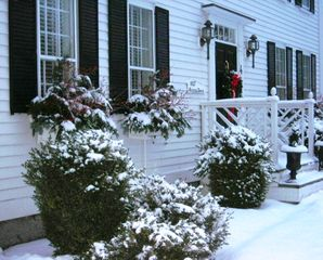 Kennebunkport house photo - Christmas at the Oliver Davis House