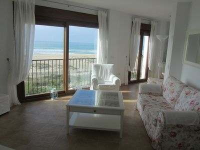 Enjoy stunning sea views from this gorgeous beach front Apartment