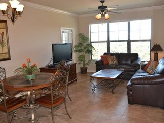Great layout with loads of space... Brand new chocolate brown leather set... - Bella Piazza condo vacation rental photo