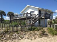 Downstairs Unit, across the street from the beach with great view of the ocean!