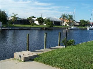 Punta Gorda house photo - our dock, just 5 min from Charlotte Harbor.