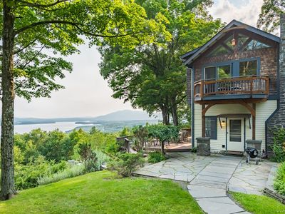 NEW: Arts+Crafts original perched on terraced mountainside w/breathtaking views!