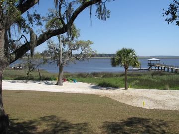 Best views on the GA coast - Enjoy watching porpoises and birds from large deck