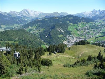 La Clusaz ski resort (25 km from house). Great walking/downhill mountain biking